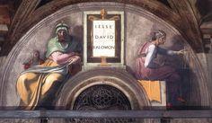 Jesse - David - Solomon - Gallery of Sistine Chapel ceiling - Wikipedia, the free encyclopedia