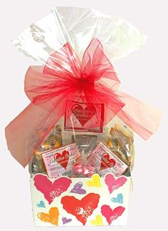 Gluten free gift baskets made by basketcasevancouver gift click here to buy valentines day gift basket gluten free vegan large negle Image collections