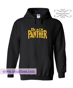 Black Panther Hoodie from usualtees.com This hoodie is Made To Order, one by one printed so we can control the quality.