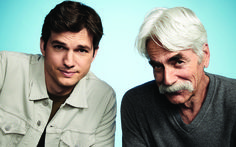 Father's Day Tales From Ashton Kutcher and Sam Elliott, Co-Stars of The Ranch Sam Elliott The Ranch, The Ranch Tv Show, The Ranch Netflix, Sam Elliott Pictures, What Is Netflix, Mustache Men, Tom Selleck, Ashton Kutcher, Executive Producer
