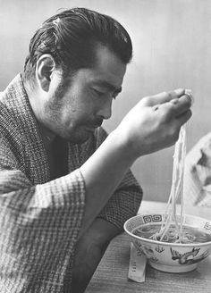Akira Kurosawa's leading man, Yojimbo himself, Toshiro Mifune
