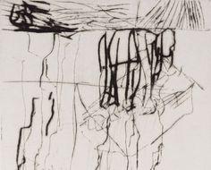 Per Kirkeby, etching Landscape Drawings, Abstract Drawings, Abstract Watercolor, Abstract Art, Collages, Generative Art, Unusual Art, Art Techniques, Illustrations