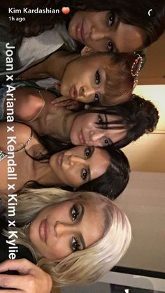 Ariana and friends Kris Jenner, Kendall Jenner, Kylie Jenner Look, Ariana Grande Cute, Ariana Grande Outfits, Ariana Grande Pictures, Kourtney Kardashian, Kardashian Jenner, Maquillage Kylie Jenner