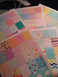 DIY WASHI SHEETS for Erin Condren Weekly Squares - MsWenduhh