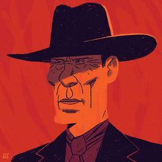 Okay, okay...did a quick new one of The Man In Black for #Westworld Day...#illustration