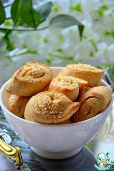 Печенье из плавленных сырков - кулинарный рецепт