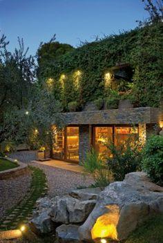 Javier Barba, Rallis House, Greece  Natural stone