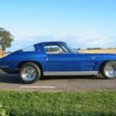 63 Corvette w/ back window revision or a 64 Corvette  Corvettes!