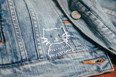 How to Customise a Denim Jacket | POPSUGAR Fashion UK