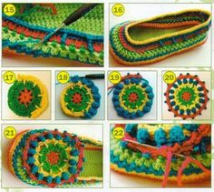 Materiales gráficos Gaby: Calzado tejido