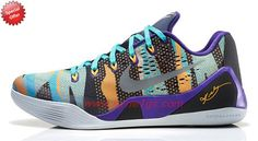 Nike Kobe 9 EM Pop Art Camo Official Images and Release Info Court Purple  Reflective Silver Atomic Mango Turquoise 646701 508 a958ef7ea1