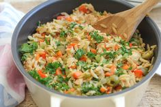 Quick and Healthy Dinner: Orzo with Tuna - Hip Foodie Mom