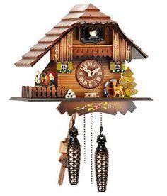 horloge coucou chalet diamantini domeniconi horloges. Black Bedroom Furniture Sets. Home Design Ideas
