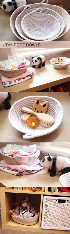rope bowls and baskets (via Bloglovin.com )