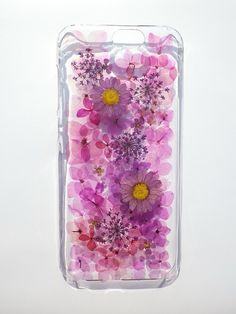 Annys workshop手作押花手機保護殼,屬於HTC ONE A9的紫色浪漫