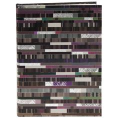 Notizbuch Factum in DIN A4 Einband: Naturpapier mit Silberprägung und Relief / 256 chamois Seiten, blanko / Größe: 21 x 30 cm