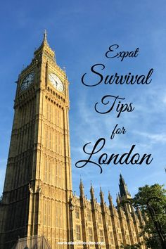 Expat Tips for Living in London: not sure I entirely agree with everything! (My washer and dryer are separate, for a start!)