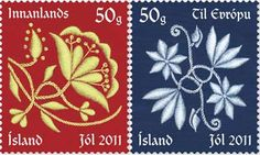 2011 Christmas stamps from Iceland