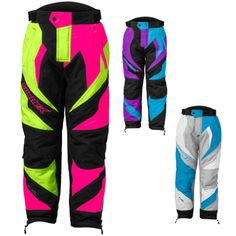 Castle Fuel SE G5 Youth Girls Snowmobile Snow Winter Bib Pant