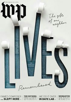I love how this cover actually appears to be coming off of the page. It's so different from many other covers due to this 3D effect and making it seem like the words are actually coming off of the page. They also went into great detail of the letters and gave them shadows and highlights in order to make it appear more realistic as well.This is a great example of how I can change up my cover and make it look more realistic and 3D.