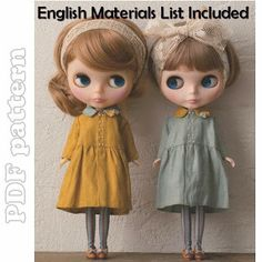 Blythe Linen Dress Coat Sewing Pattern PDF | CraftyLine e-pattern shop