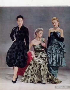 Balenciaga (Couture) & Worth 1946 Robert Piguet