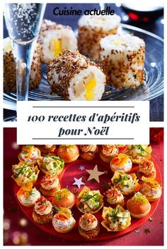 100 aperitif recipes for Christmas - Weihnachten - noel Lunch Recipes, Vegetarian Recipes, Dinner Recipes, Healthy Recipes, Appetizers For Party, Appetizer Recipes, Cooking App, Christmas Cooking, Christmas Recipes