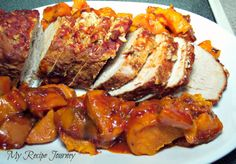 Peach Salsa Pork Roast