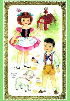 Mother Goose Paper Dolls - papercat - Picasa Web Albums