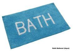 Turquoise Bathmat