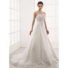 inexpensive dropped waistline wedding dresses
