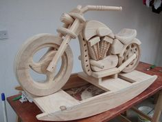 rocking horse motorcycle plans
