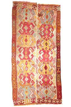 Turkish Kilim  3.48 x 1.55 m  I Perryman Carpets