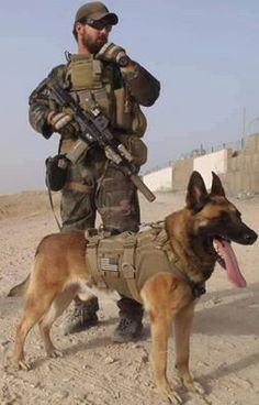 Dear God,  protect my brave handler,  grant your almighty protection,  unite my handler safely with the family  after the tour of duty has ended.  I ask nothing for myself.  Amen.