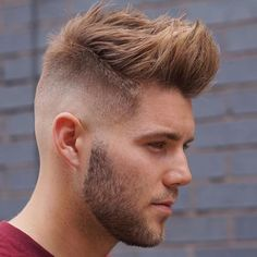 2017 men hipster hairstyles are cool thing now! Hipster hairstyles involve different styles, especially retro hairstyles that are seasoned with modern twists. If you want to become a hipster guy th… Hipster Haircuts For Men, Hipster Hairstyles, Quiff Hairstyles, Cool Hairstyles, Men's Haircuts, Hairstyle Men, Hairdos, Hairstyle Ideas, Pelo Hipster