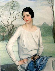 Savely Abramovitch Sorine: Princess Sergei Obolensky (née Alice Astor, daughter of John Jacob Astor IV, who went down with the Titanic; her grandmother was Caroline Astor).