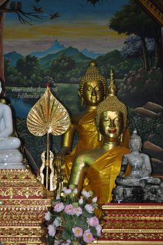 Buddhist Temple in Chaing Mai Thailand