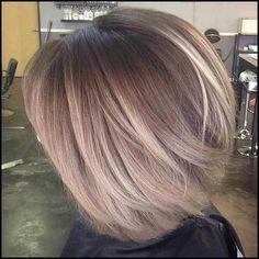 Tolle Haarfarbe Option: Balayage auf Bob Haarschnitte - Madame ... #Frisuren2018 #HairStyles #bobfrisuren2018 #ModerneFrisuren  #kurzhaarfrisuren2018 #frisurenmänner2018 #TrendMode #Damenfrisuren #Hochzeitsfrisuren #Kinderfrisuren #Langhaarfrisuren #Lockenfrisuren #PromiFrisuren #haarschnitt BalayageFärbung gewinnt in den letzten Jahren immer mehr an Popularität, natürlich wirkende Highlights und Balayage ist perfekt pro Frauen, die g...
