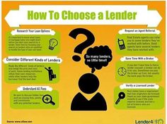 Here's a few points on how to choose a lender for you! There are many different loan packages to consider offered by different lenders. If you need help finding a lender, I have some great tips and a few recommended lenders to refer you to! #happytohelp #yourlifetimerealtor #buyer #lender