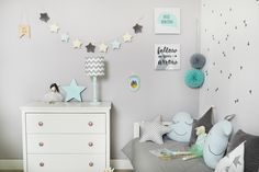 How to decorate the walls in your child's room? Check out!
