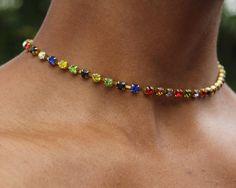 Bead Jewellery, Jewelery, Metal Choker, Beaded Necklace, Necklaces, Chokers, Unique Jewelry, Fine Jewelry, Gemstones