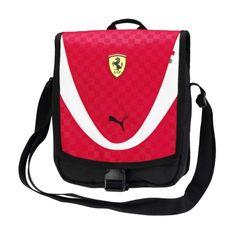 Scuderia Ferrari Replica Crossover Bag #ferrari #ferraristore #puma #crossoverbag #rossoferrari #red #prnacinghorse #cavallinorampante