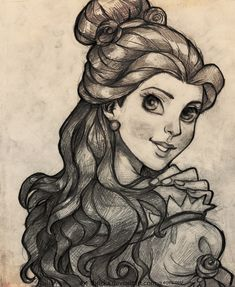 Belle - Something there by Shricka on deviantART