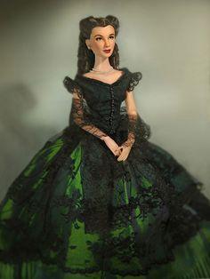 Scarlett O'hara dolls