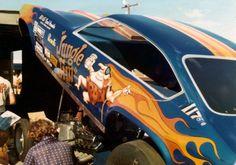 Jungle Jim funny car 1970s