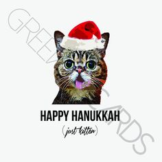 christmas: just kitten – Greeving Cards