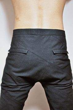 frankielulu:     loidhne:  Carol Christian Poell - U-Turn trousers SS06 U Turn, Trousers, Pants, Trouser Pants