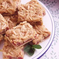 Almond Rhubarb Pastry Recipe | Taste of Home Recipes