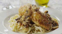 Mushroom Chicken Piccata Video