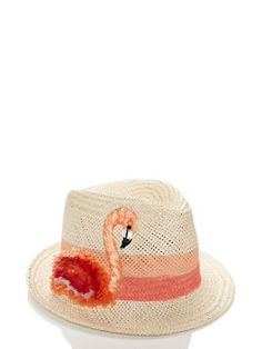 take a walk on the wild side raffia trilby by kate spade new york